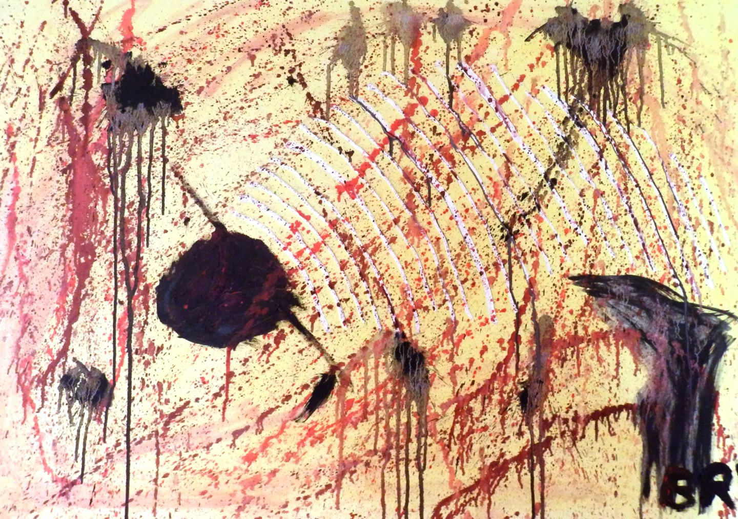 larval-depression.jpg Painting by Jan Brychta | Artmajeur