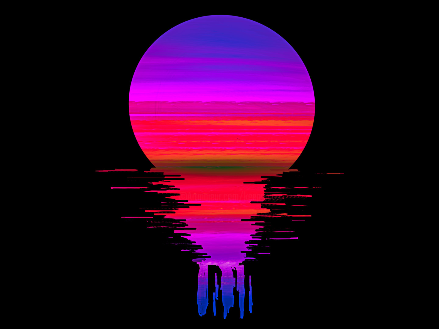 Digital Picture Image Sunset