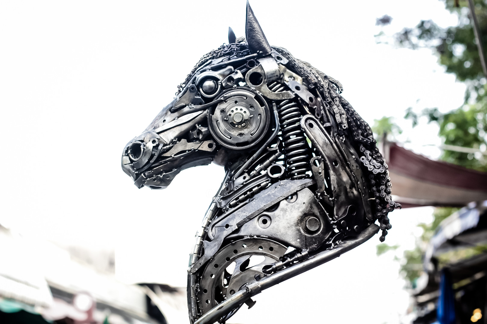 Horse Head Metal Sculpture Sculpture By Mari9art Metal Art Sculpture Artmajeur