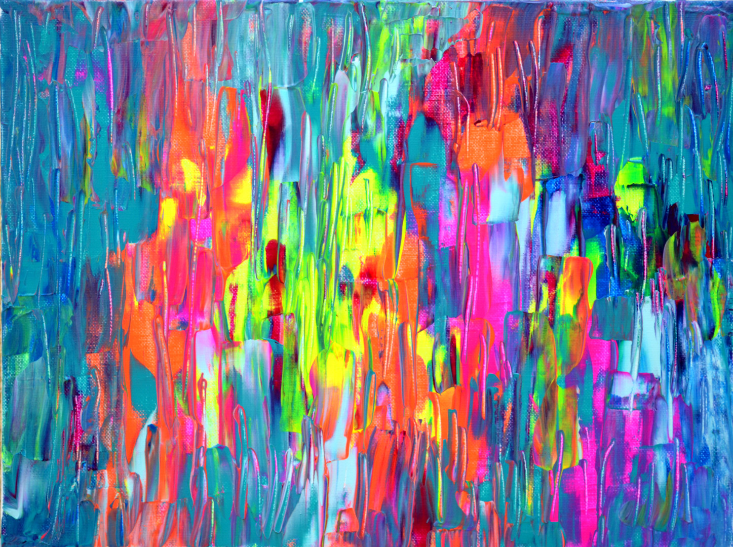 Small Abstract 3 - Abstract Painting Perfect Gift Painting ...