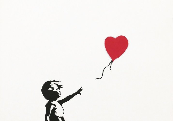 Contemporary Street Art: How Banksy's Little Girl with a Balloon became an icon