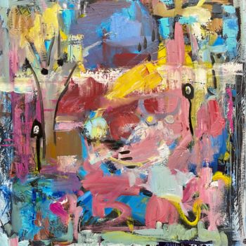 Abstract Painting, oil, abstract, artwork by Julia Abramoshvili