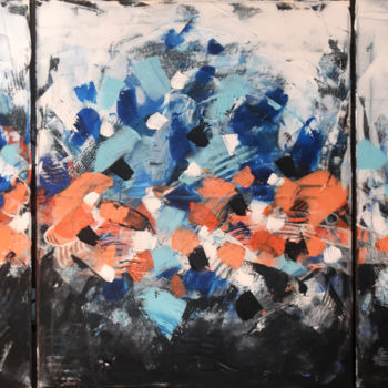 """Painting titled """"Energy 8 - contempo…"""" by Adelacreative, Original Art, Acrylic Mounted on Stretcher frame"""