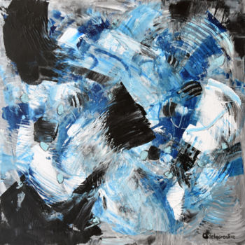 """Painting titled """"Energy 6 - modern a…"""" by Adelacreative, Original Art, Acrylic Mounted on Stretcher frame"""