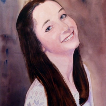 Painting, watercolor, figurative, artwork by Adyne Gohy