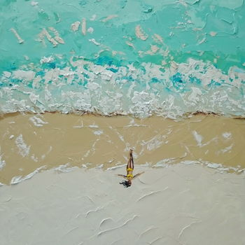 """Painting titled """"Relax time; Origina…"""" by Alena Shymchonak, Original Art, Oil"""