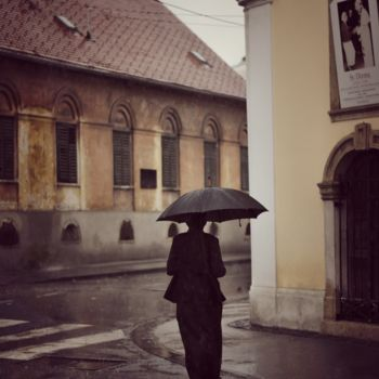 """Photography titled """"Rainy day"""" by Alen Gurovic, Original Art, Non Manipulated Photography"""