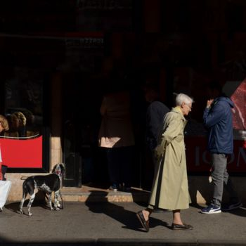 """Photography titled """"Street life in Zagr…"""" by Alen Gurovic, Original Art, Digital Photography"""