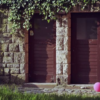 """Photography titled """"two doors and ballo…"""" by Alen Gurovic, Original Art, Digital Photography"""