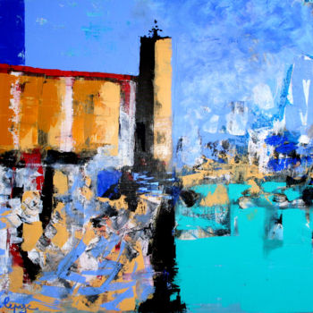 Painting, acrylic, artwork by Alexandre Lepage