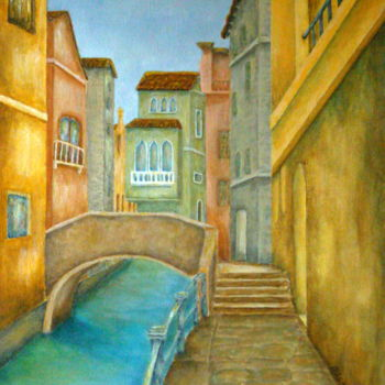 Painting, acrylic, artwork by Allegretto
