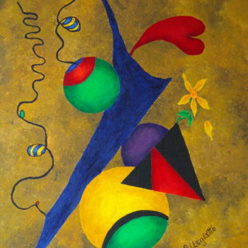 """Painting titled """"HARMONY"""" by Allegretto, Original Art, Acrylic"""