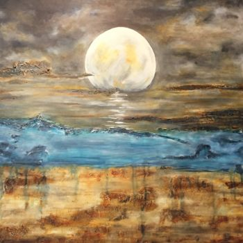 """Painting titled """"What Came First"""" by Angie Chapman, Original Art, Acrylic"""