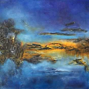 """Painting titled """"Barely Visible"""" by Angie Chapman, Original Art, Acrylic"""
