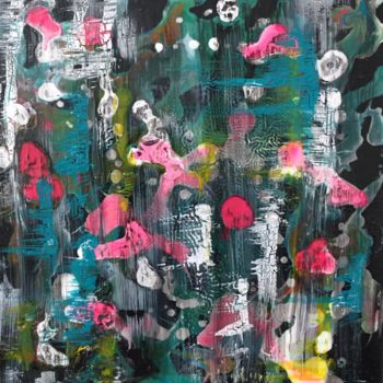 """Painting titled """"Ghost Motion"""" by Angie Chapman, Original Art, Other"""