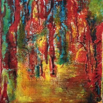 """Painting titled """"Childhood"""" by Angie Chapman, Original Art, Acrylic"""