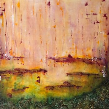 """Painting titled """"Rising from the Dep…"""" by Angie Chapman, Original Art, Acrylic"""