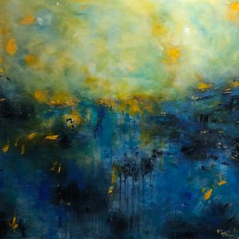 """Painting titled """"Edge of the Precipi…"""" by Angie Chapman, Original Art, Acrylic"""