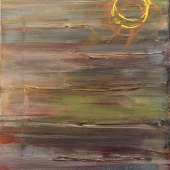 """Painting titled """"Dusk"""" by Angie Chapman, Original Art, Acrylic"""