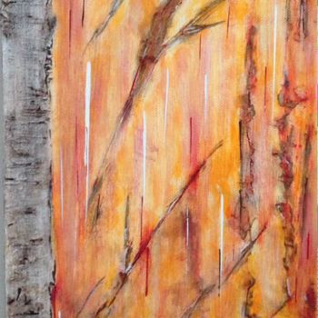 """Painting titled """"Autumn Colours I"""" by Angie Chapman, Original Art, Acrylic"""