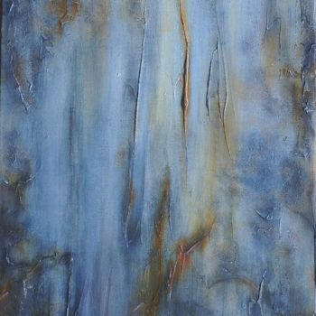 """Painting titled """"Falling Water"""" by Angie Chapman, Original Art, Acrylic"""