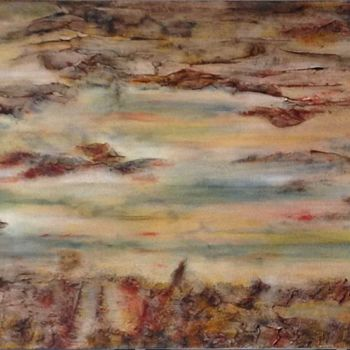 """Painting titled """"Where We Meet"""" by Angie Chapman, Original Art, Acrylic"""