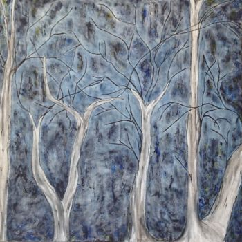 """Painting titled """"Wisdom In The Darkn…"""" by Angie Chapman, Original Art, Acrylic"""