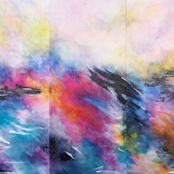"""Painting titled """"Emotional Deluge (T…"""" by Angie Chapman, Original Art, Acrylic"""