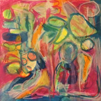 Drawing, pastel, abstract, artwork by Anne-Marie Delaunay-Danizio