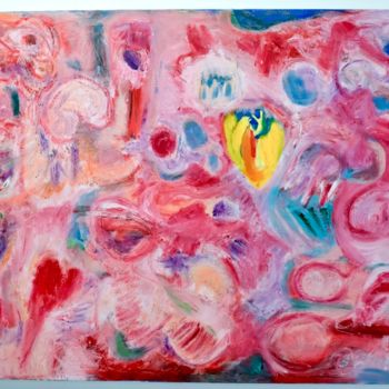 """Painting titled """"Heart of a Monster"""" by Anne-Marie Delaunay-Danizio, Original Art, Oil"""