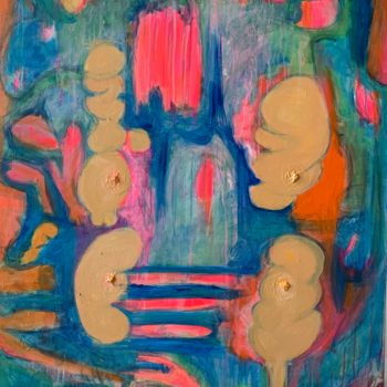 Painting, acrylic, artwork by Anne-Marie Delaunay-Danizio