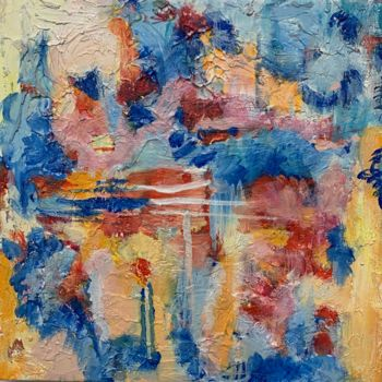 """Painting titled """"The Shift 6"""" by Anne-Marie Delaunay-Danizio, Original Art, Acrylic"""