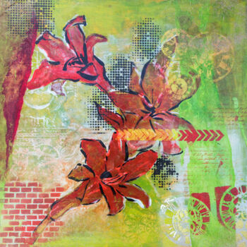 """Painting titled """"Time is passing 2"""" by Ariadna De Raadt, Original Art, Acrylic"""