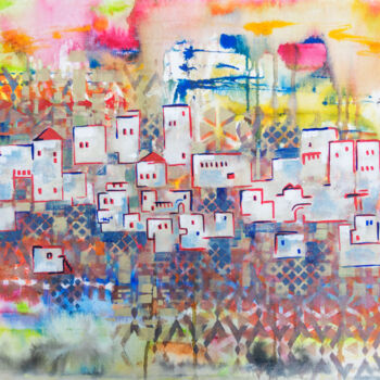 """Painting titled """"Home and silence 10"""" by Ariadna De Raadt, Original Art, Acrylic"""