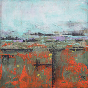"""Painting titled """"Shifting Landscape 2"""" by Ariadna De Raadt, Original Art, Acrylic"""