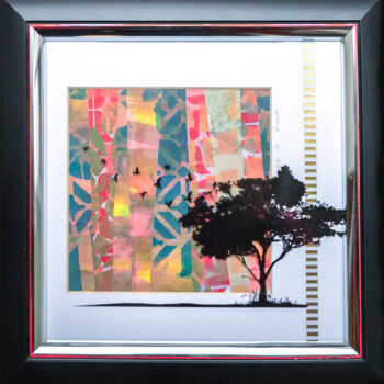 """Collages titled """"Waiting for a new d…"""" by Ariadna De Raadt, Original Art, Collages"""