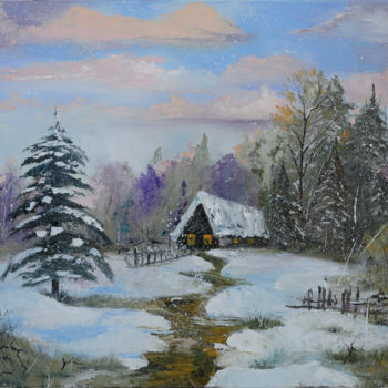 """Painting titled """"Spring is coming"""" by Arina Tcherem, Original Art, Oil"""