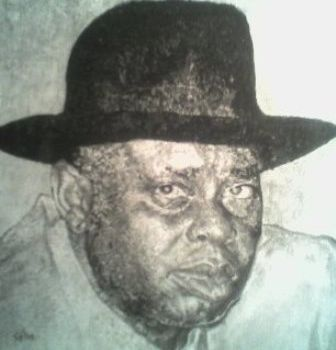 """Drawing titled """"Chief Alamieyeseigha"""" by Affordable Art, Original Art, Other"""