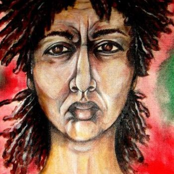 """Painting titled """"its only me"""" by Helene, Original Art,"""
