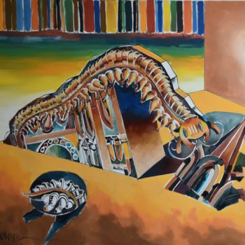 """Painting titled """"After Post Apocalyp…"""" by Roman Bonchuk, Original Art, Acrylic"""