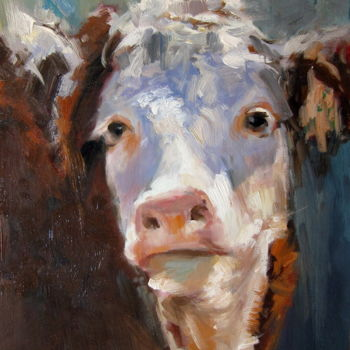 Painting, oil, impressionism, artwork by James Shang