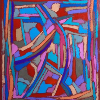 Painting, abstract, artwork by Aykaz Arzumanyan