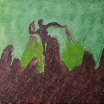 """Painting titled """"Earth Elemental"""" by Askew Mind, Original Art, Acrylic"""