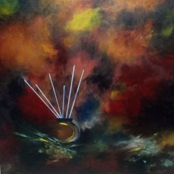 Painting, oil, abstract, artwork by Atignas Art
