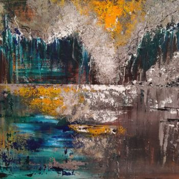 Abstract Painting, acrylic, abstract, artwork by Atignas Art