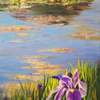 """Painting titled """"Reflexions"""" by Azucena, Original Art, Acrylic"""
