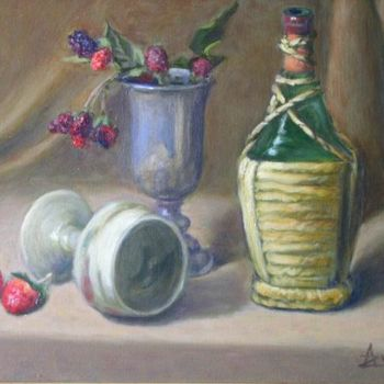 Painting, oil, classicism, artwork by Azucena