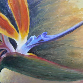 Painting, oil, artwork by Azucena