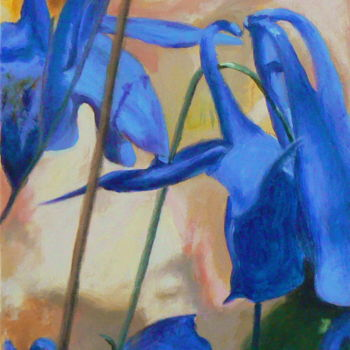 """Painting titled """"Mirage"""" by Azucena, Original Art, Oil"""