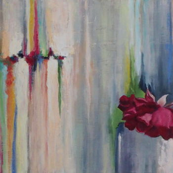 """Painting titled """"Two worlds - Deux m…"""" by Azucena, Original Art, Acrylic"""